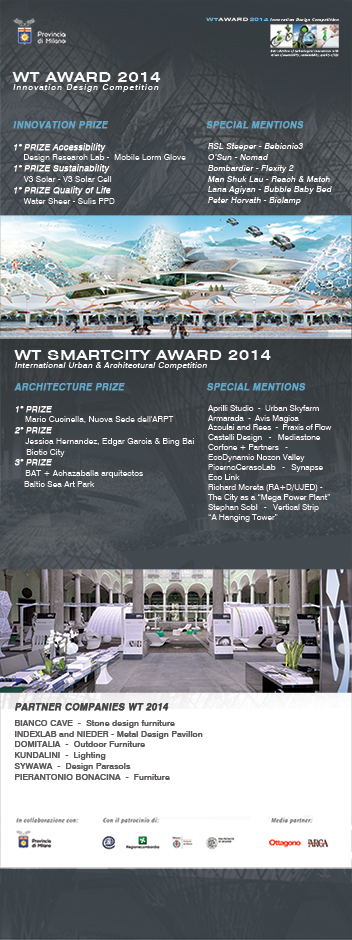 wt awards 2014 winners announced