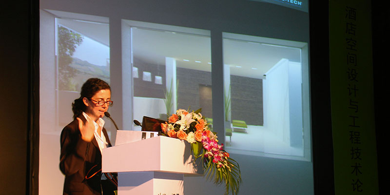 Well-Tech President as a speaker at 'International Hospitality Design & Engineering Forum 2013